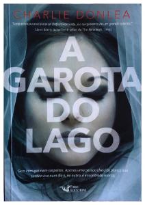 """imagem mostrando a capa do livro """"A garota do lago"""""""
